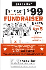 Group Show Invite - Holiday Fundraiser at The Propeller